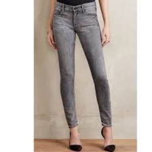 MOTHER The Looker,m gray skinny jeans sz 28